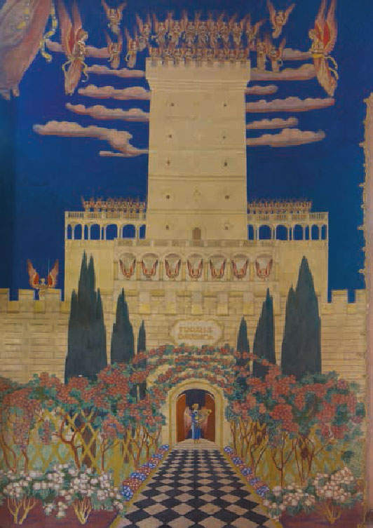 Last wall painting by Józef Mehoffer